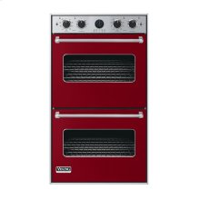 """Apple Red 30"""" Double Electric Premiere Oven - VEDO (30"""" Double Electric Premiere Oven)"""
