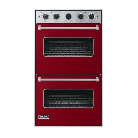"Apple Red 30"" Double Electric Premiere Oven - VEDO (30"" Double Electric Premiere Oven)"