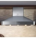 "DACOR Discovery 36"" Chimney Hood, wall-mounted in Stainless Steel"