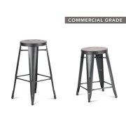 "Parker Barstool 17"" x 17"" x 29"" Product Image"