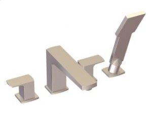 4-Hole Deck Mount Tub Filler - Brushed Nickel Product Image