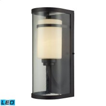 Caldwell 1 Light Outdoor Sconce in OiLED Bronze - LED Offering Up To 800 Lumens (60 Watt Equivalent)