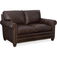 Bradington Young Raylen Stationary Loveseat 8-Way Tie 604-75 Product Image
