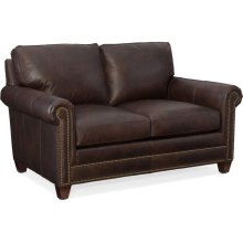 Bradington Young Raylen Stationary Loveseat 8-Way Tie 604-75