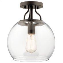 Harmony 1 Light Semi Flush Olde Bronze®