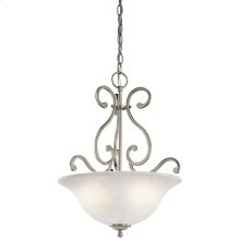 Camerena Collection Camerena 3 Light Inverted Pendant NI