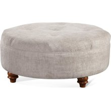 "Downing 32"" Round Cocktail Ottoman"