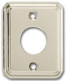 Traditional Rectangular Surface Mounted Rose - Solid Brass in US10B (Oil-rubbed Bronze, Lacquered) Product Image