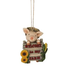 """""""Welcome to My Farm"""" Ornament."""