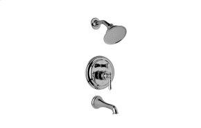 Traditional Pressure Balancing Tub & Shower Set (Rough & Trim)