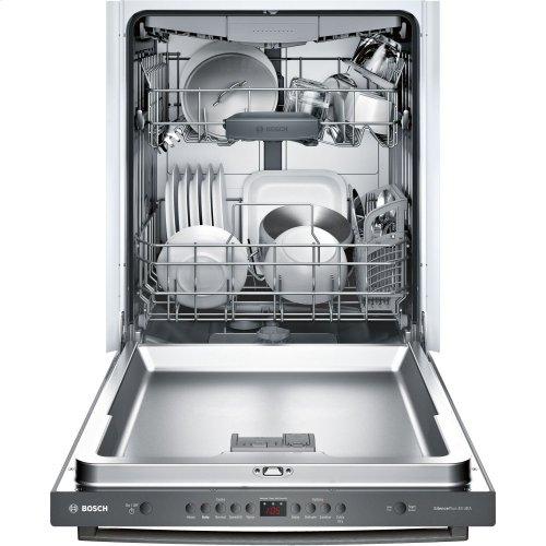 100 Series Dishwasher 24'' Black stainless steel