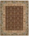 NOURMAK SK93 BROWN RECTANGLE RUG 7'10'' x 9'10''