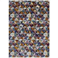Arisa Geometric Hexagon Mosaic 8x10 Area Rug in Multicolored
