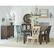 Brown Leg Table
