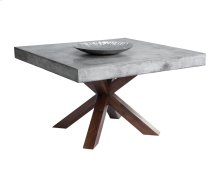 Warwick Square Dining Table - Grey