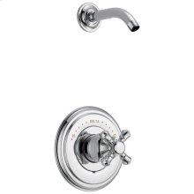 Chrome Monitor ® 14 Series Shower Trim - Less Handle - Less Head