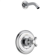 Chrome Monitor ® 14 Series Shower Trim - Less Handle - Less Head