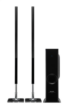 2.1 Channel Slim Sound Bar Home Theater System