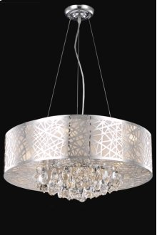 2079 Prism Collection Hanging Fixture Chrome Finish (Royal Cut Crystals)