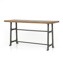 Counter Size Bleached Oak Finish Alistair Bar + Counter Table