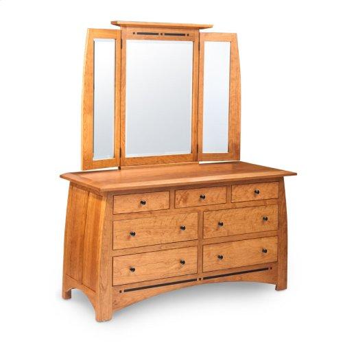 Aspen 7-Drawer Dresser, Medium