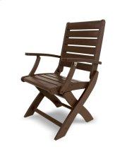 Mahogany Folding Chair Product Image