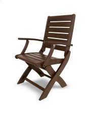Mahogany Folding Chair Product Image