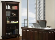 Florentino Bookcase W/3 Adjustable Shelves No Doors