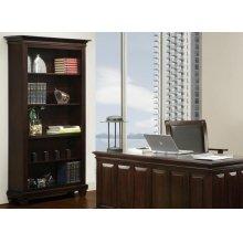 Florentino Bookcase W/3 Adjustable Shelves No Doors
