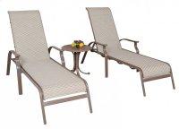 Island Breeze Sling 3 PC Chaise Lounge set Product Image