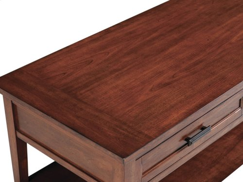 Rectangular Starter Lift Top Cocktail Table (w/Casters)