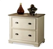 Coventry Lateral File Cabinet Weathered Driftwood/Dover White finish Product Image