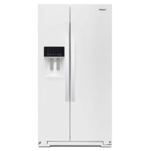 36-inch Wide Counter Depth Side-by-Side Refrigerator - 21 cu. ft. - WHITE