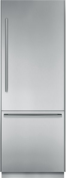 30 inch Pre-Assembled Built-In Bottom-Freezer T30BB810SS