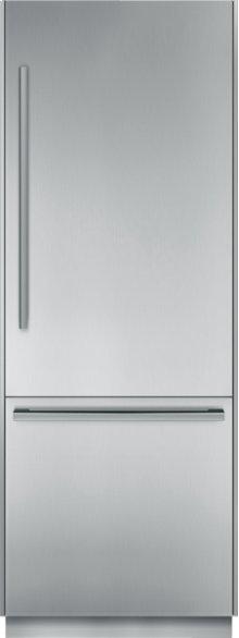 30 inch Pre-Assembled Built-In Bottom-Freezer T30BB810SS
