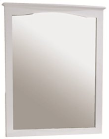 Wakefield Mirror 33 x 40h white