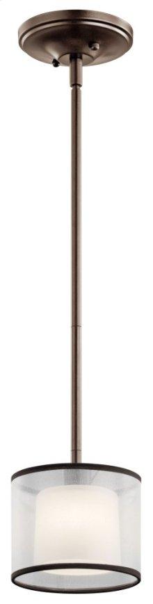 Tallie 1 Light Mini Pendant Mission Bronze