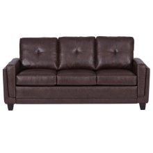 Modern Sofa - Brown PU