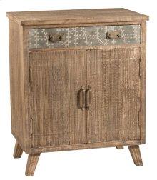 Lavelle 2 Door Cabinet - Rough Sewn Oak