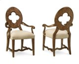 Collection One Drake Arm Chair - White Product Image