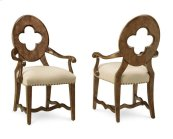 Collection One Drake Arm Chair - White