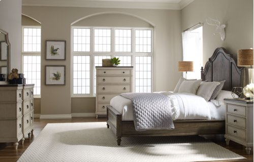 Brookhaven Panel Bed, CA King 6/0