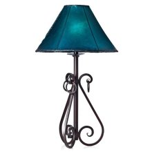 "21"" Lamp W/Star & Concho With Shade"