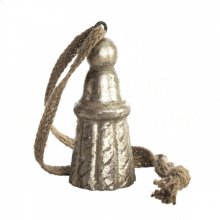Gilt Silver Wood Small Tie Back