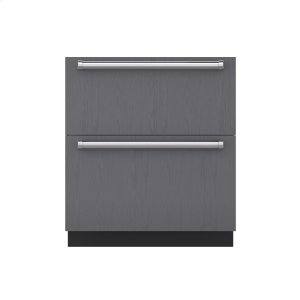 "Subzero30"" Designer Refrigerator/Freezer Drawers - Panel Ready"