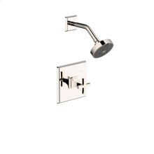 Shower Trim Leyden Series 14 Polished Nickel 1