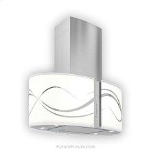 34-inch Murano Serenity LED Island Range Hood, Range Hood