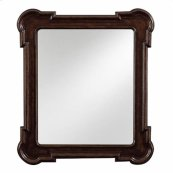 European Farmhouse - Captain's Fluted Edge Mirror In Terrain
