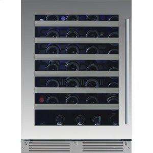 Xo Appliances24in Wine Cellar 1 Zone SS Glass LH