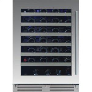 XO APPLIANCE24in Wine Cellar 1 Zone SS Glass LH